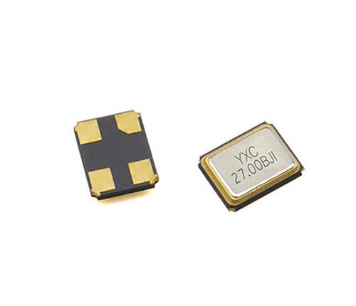 YSX321SL 27MHZ 12PF 10PPM 4pins SMD/SMT Metal Surface Quartz Crystal