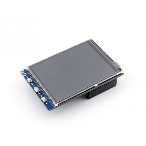 2.8 inch Resistive Touch Screen TFT LCD Designed for Raspberry Pi, 320×240 resolution - Waveshare