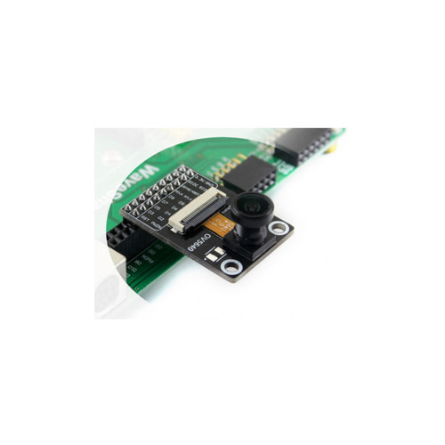 Camera Module Based on OV5640 Image Sensor  5 Megapixel (2592x1944), Fisheye Lens- Waveshare