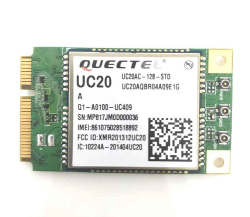 Quectel UC20-A UMTS/HSPA GSM/GPRS GPS/GLONASS Mini PCIe Module