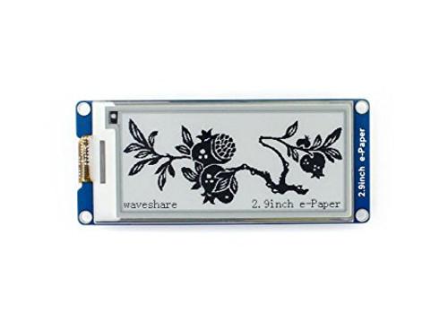 2.9 inch E-Ink display module 296x128, - Waveshare