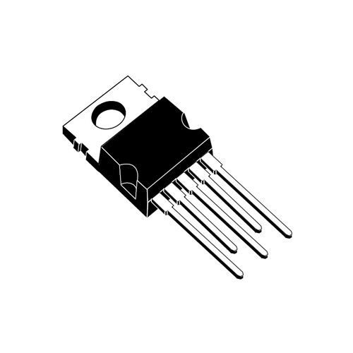 LM2575GT-ADJ - 1.2-37V 1A 52kHz Adjustable Output Step-Down Switching Regulator 5-Pin TO-220
