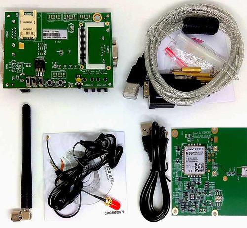 Quectel M66 R2.0 GSM/GPRS Evaluation Board (EVB) Kit