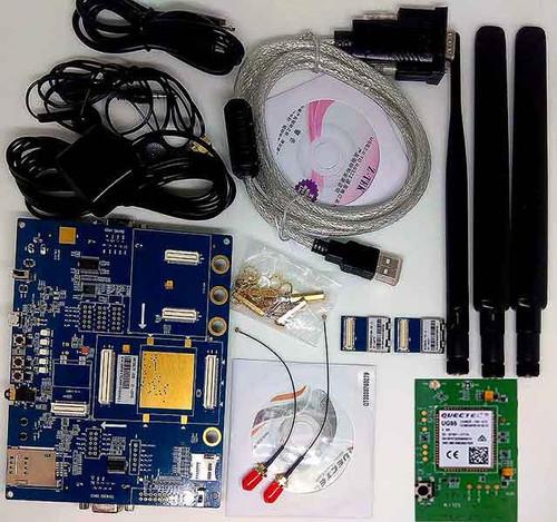 Quectel UG95-E UMTS/HSPA+ LTE Evaluation Board (EVB) Kit