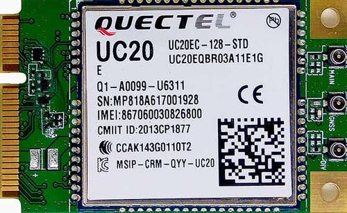 Quectel UC20E UMTS HSPA GSM GPRS GPS GLONASS Mini PCIe Module