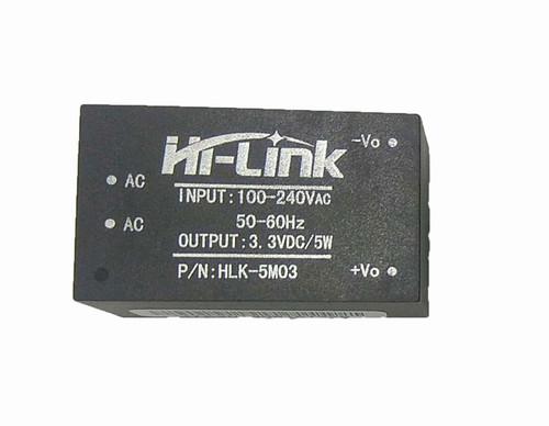 HLK-5M03 - 3.3V 5W Ultra-compact AC-DC Power Module Hi-Link