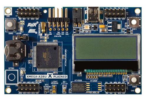 ATXMEGAA3BU-XPLD- XMEGA-A3BU Xplained Evaluation Kit - Microchip Technology