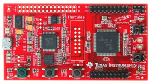 LAUNCHXL-RM42- Hercules RM42x LaunchPad Development Kit (USB powered, on board XDS100v2 J-TAG emulator)
