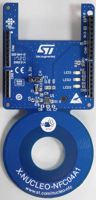 X-NUCLEO-NFC04A1 - Dynamic NFC/RFID Tag IC Expansion Board