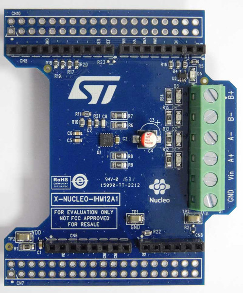 X-NUCLEO-IHM12A1 - Dual Brush DC Motor Driver STSPIN240 based Expansion Board