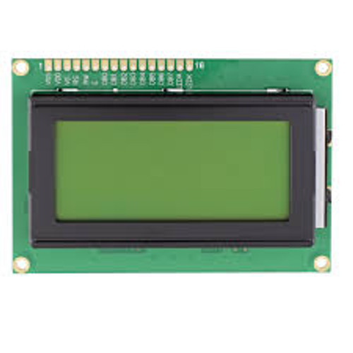 16x4 Character LCD Display Module
