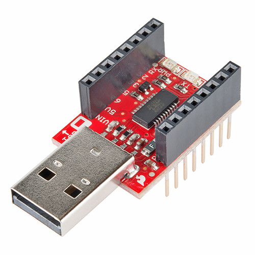 DEV-12924 - Sparkfun MicroView - USB Programmer - Sparkfun