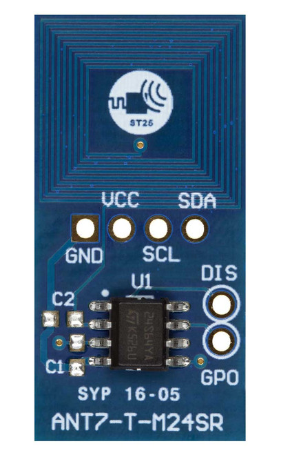 ANT7-T-M24SR64 - Antenna Reference Board, M24SR64-Y - STMicroelectronics