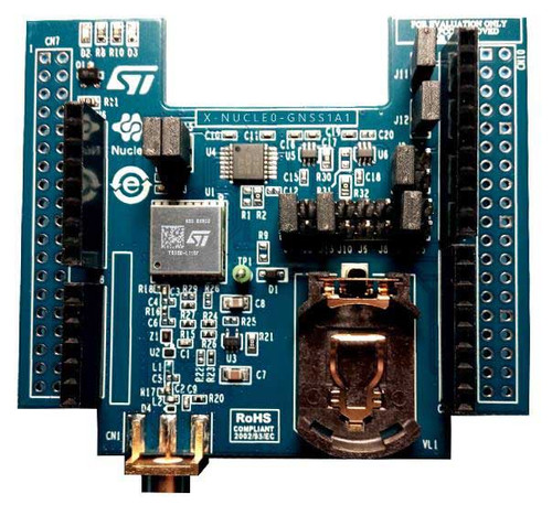 X-NUCLEO-GNSS1A1 - GNSS Expansion Board, Teseo-LIV3F Module