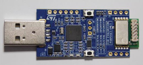 STEVAL-IDS001V4M - 868 MHz RF USB Dongle