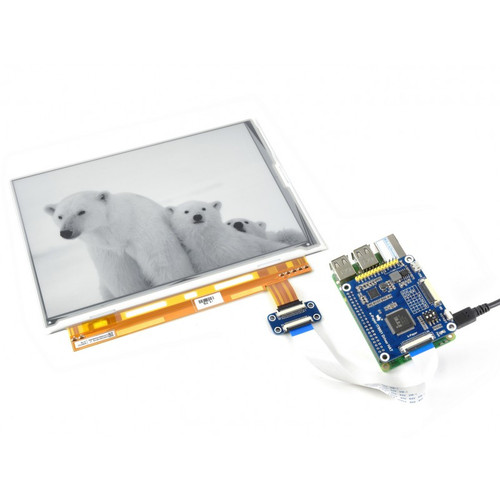 9.7 inch E-Ink Display HAT for Raspberry Pi