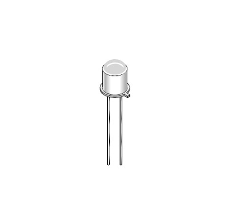 LED55C - GaAs Infrared Emitting Diode - On Semiconductor