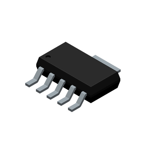 TL1963ADCQR - 1.5A Adjustable Output LDO Linear Voltage Regulator 6-Pin SOT-223