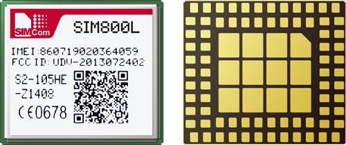 SIM800L - Quad-band GSM/GPRS Module - SIMCom
