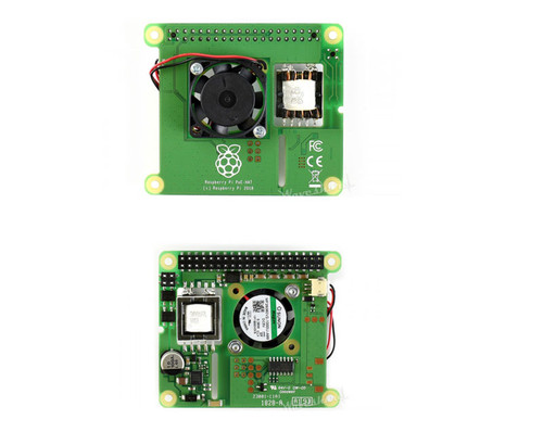 Power over Ethernet HAT for Raspberry Pi 3B+ and 802.3af PoE network - Waveshare
