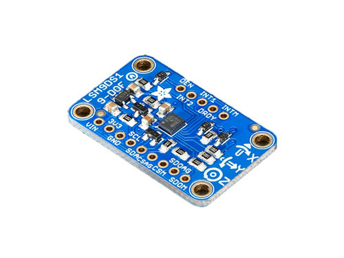 3387 - 9-DOF Accel/Mag/Gyro+Temp Breakout Board - LSM9DS1 - Adafruit