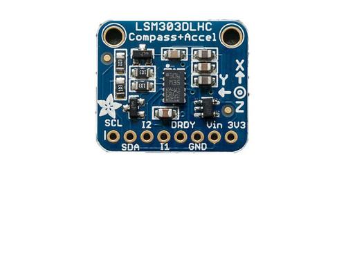 1120 - Triple-axis Accelerometer+Magnetometer (Compass) Board - LSM303 - Adafruit