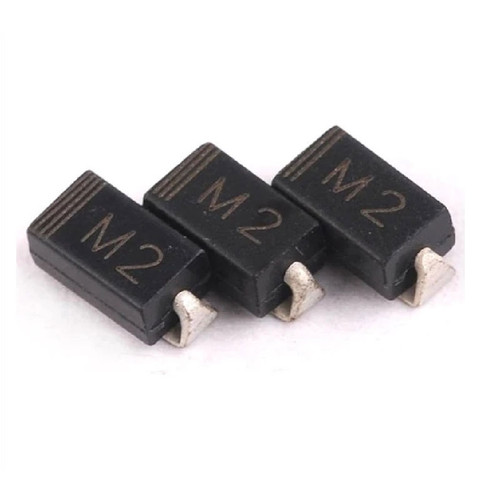 IN4002-M2 - 100V 1A Rectifier Diode 2Pin SMA DO-214AC