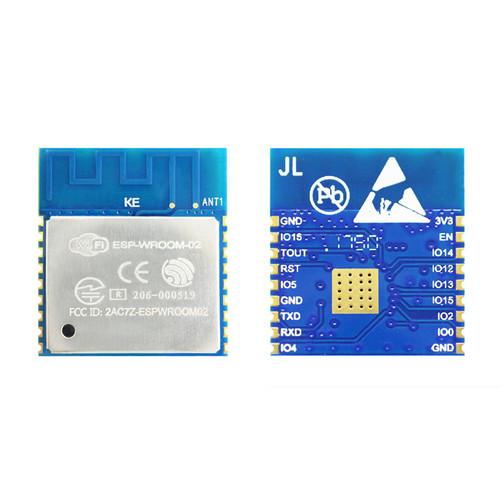 ESP-WROOM-02 (4MB) - Wi-Fi RF Module (SPI Flash 4MB, PCB Antenna) - Espressif