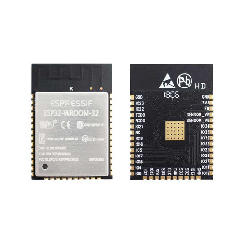 ESP32-WROOM-32 (16MB) - Wi-Fi+BT+BLE MCU Module (SPI Flash 16MB) - Espressif