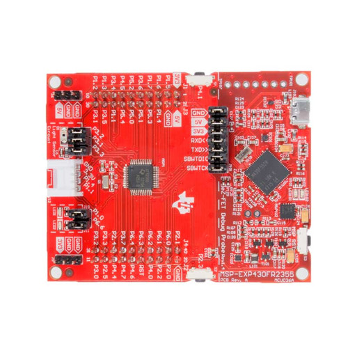 MSP-EXP430FR2355 - MSP430FR2355 LaunchPad Development Kit - Texas Instruments