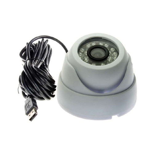 ELP-USB100W05MT-ML36 - ELP 720P Color CMOS Sensor Dome USB2.0 Camera IR LED IR CUT Audio Support