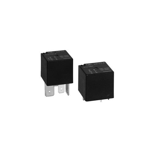 12VDC 1A Short Terminal Automotive Relay, HFV7/012-HSTM-D  - Hongfa