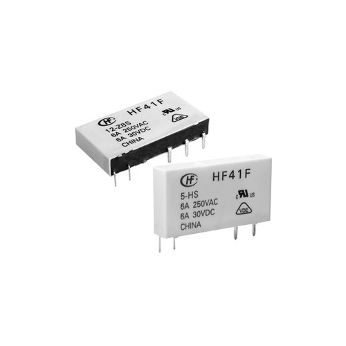 5VDC 1C Subminiature Power Relay 28.0×5.0×15.0mm - HF41F/5-Z8ST  - Hongfa