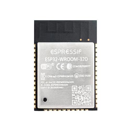 ESP32-WROOM-32D (8MB) - Wi-Fi+BT+BLE MCU Module (SPI Flash 8MB, PCB Antenna) - Esspessif