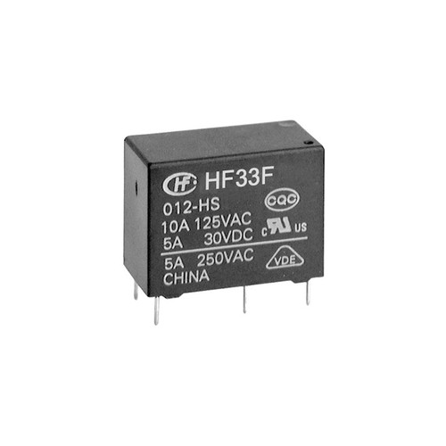 6VDC 1A Subminiature Intermediate Power Relay 20.5×10.2×15.3mm - HF33F/006-HSL  - Hongfa