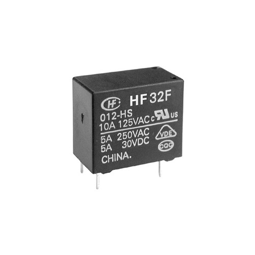 5VDC 1C Subminiature Intermediate Power Relay 18.4×10.2×15.3mm - HF32F/005-ZS3  - Hongfa