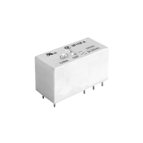 230VAC Small High Power AC Relay 29.0x12.7x15.7mm - HF115F-A/230-1ZS2  - Hongfa