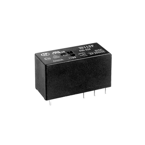 5VDC 1C 5.0mm 1 pole 16A Miniature High Power Relay  - HF115F/005-1ZS3  - Hongfa