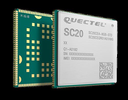 Quectel SC20-CE Smart LTE Wi-Fi BT4.1 LE Module