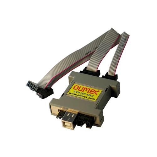 USB AVR ISP MK2 Programmer ICSP PDI TPI Support - AVR-ISP-MK2 - OLIMEX