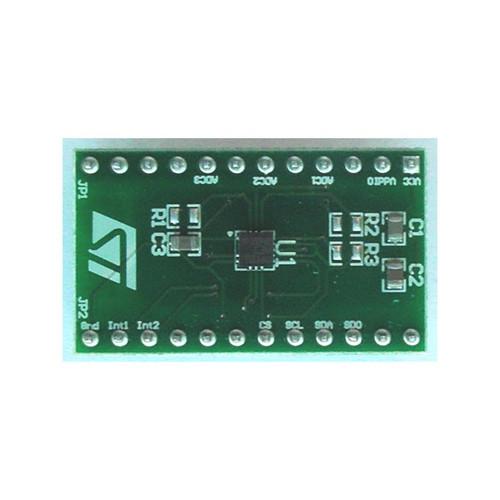 LIS3DH MEMS Adapter Board DIL 24 Socket 3 Axis Sensor Evaluation Board - STEVAL-MKI105V1 - STMicroelectronics