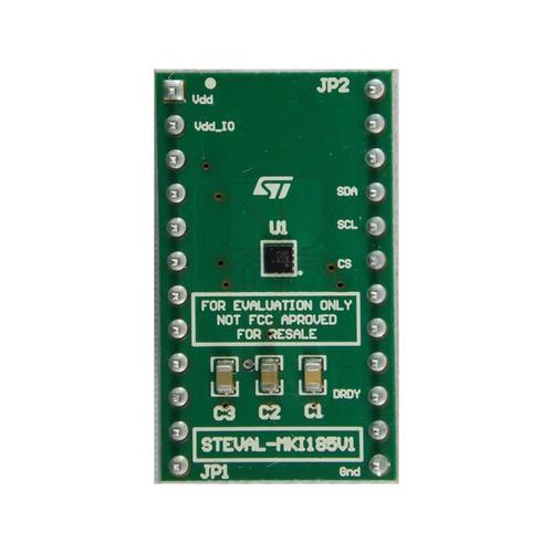 IIS2MDC Adapter Board DIL24 Socket Magnetometer Sensor Evaluation Board - STEVAL-MKI185V1 - STMicroelectronics