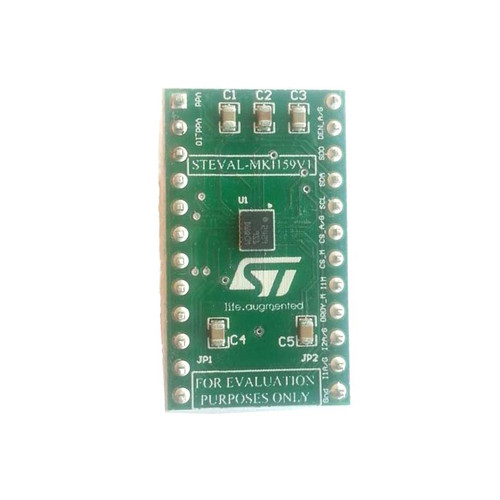 LSM9DS1 iNEMO Adapter Board DIL24 Socket 3 Axis Sensor Evaluation Board - STEVAL-MKI159V1 - STMicroelectronics