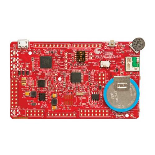 PSoC 4 S-Series Pioneer Kit ARM Cortex-M0+ MCU 32-Bit CapSense Embedded Evaluation Board - CY8CKIT-041-40XX - Cypress Semiconductor