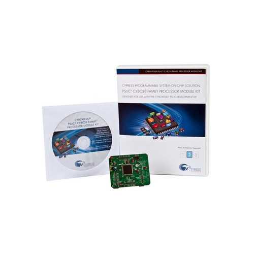 PSoC CY8C38 Family Processor Module Kit - CY8CKIT-009A - Cypress Semiconductor | Evelta