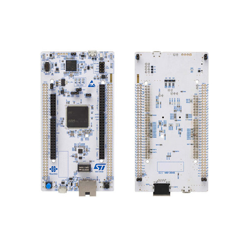 mbed-Enabled Development Nucleo-144 ARM Cortex-M7 Embedded Evaluation Board - NUCLEO-H743ZI2 - STMicroelectronics | Evelta
