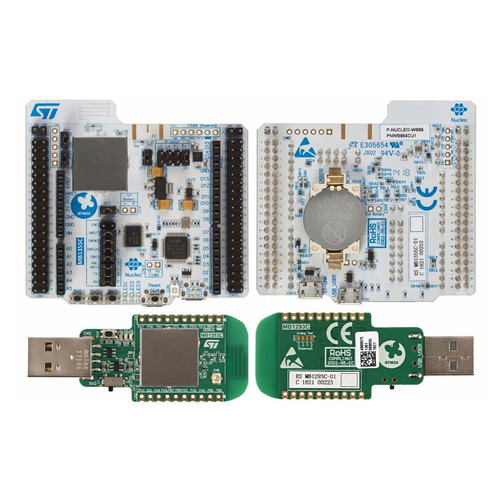 Bluetooth 5 802.15.4 Nucleo Pack USB dongle Nucleo-68 STM32WB55 MCU RF Evaluation Board - P-NUCLEO-WB55 - STMicroelectronics | Evelta
