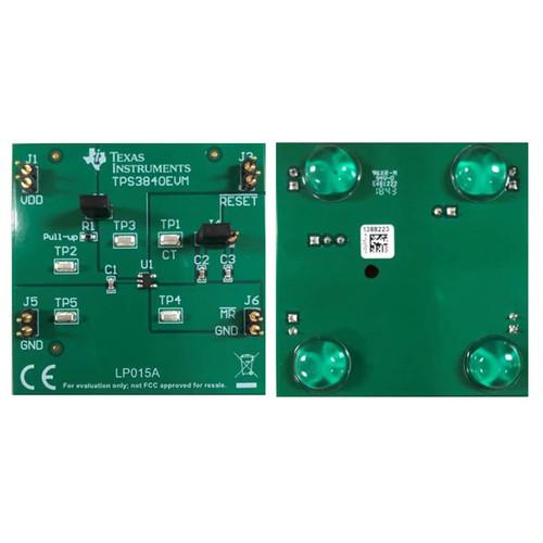 TPS3840 Nanopower Voltage Supervisor Power Management Evaluation Board - TPS3840EVM - Texas Instruments
