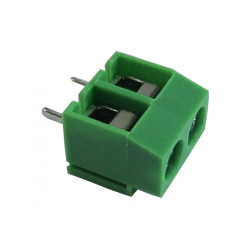 2.54mm 2-pin Screw Type PCB Terminal Block - VT-254/2-P - Vital Electrocomp