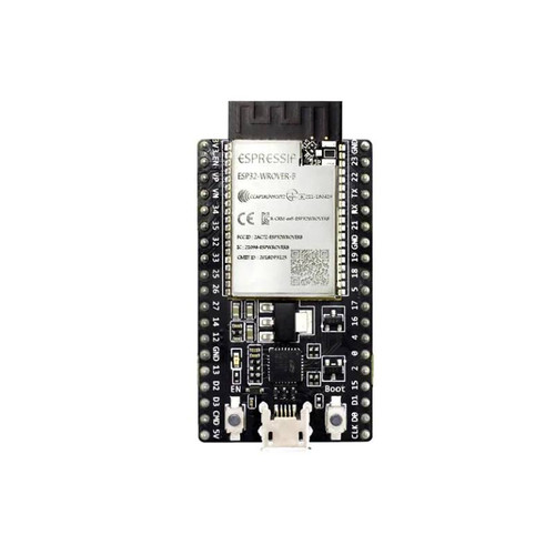 ESP32 General Purpose Development Board embeds ESP32-WROVER-B - ESP32-DevKitC-VB - Espressif